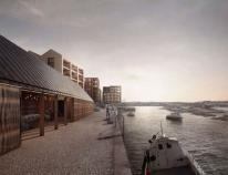 Developer Sennybridge submitted detailed plans for the site which would include apartments and wharf houses along with restaurants, workspaces, shops and a new public square